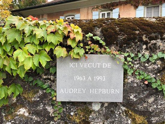 Tolochenaz, สวิตเซอร์แลนด์: 小さくて見落としそうなサイン