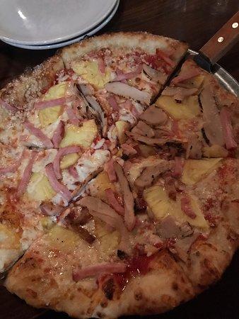 Muy rica pizza