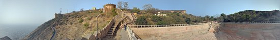 3-Hour Morning Bike Tour of Jaipur: Panorama at the top