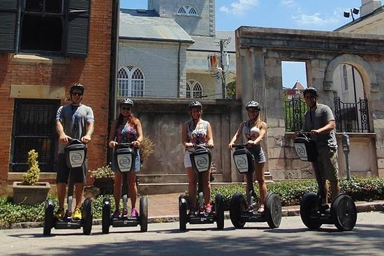 História do Segway Tour de Savannah