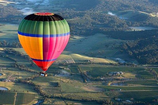 Excursão em vinícolas e voo de balão...
