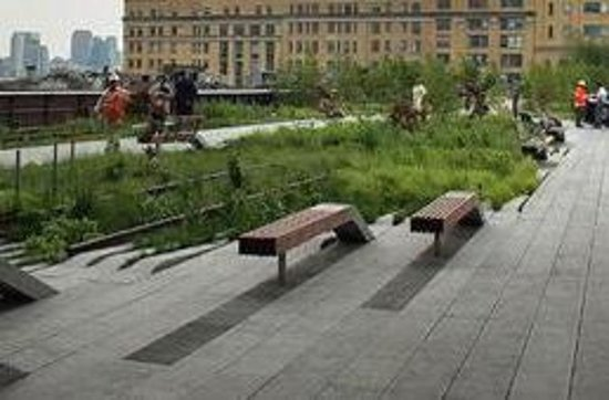 Visite à pied du parc High Line de...