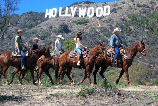 Promenade à cheval jusqu'au panneau...