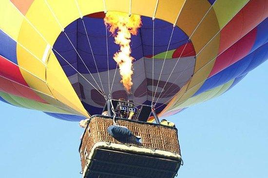 Visite privée: vol en montgolfière...