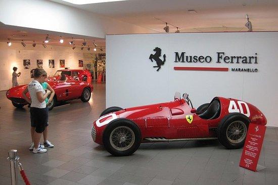 フィレンツェからのボローニャウォーキングツアーでの2日間のフェラーリ・ワール…