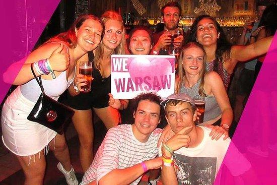 # 1 Pub Crawl Varsovia con bebidas...