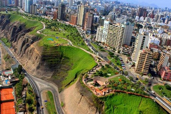 Lima Bike Tour: Along The Cliffs and...