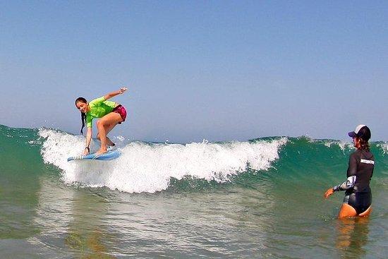 Surfunterricht an Andalusiens Costa...