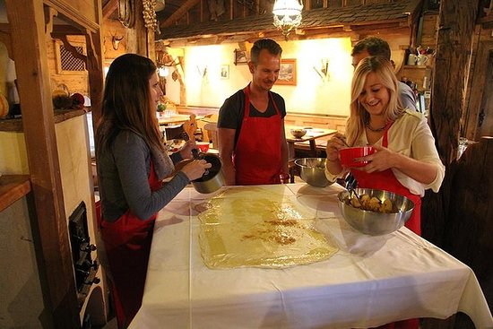 Austrian Apple Strudel Cooking Class...
