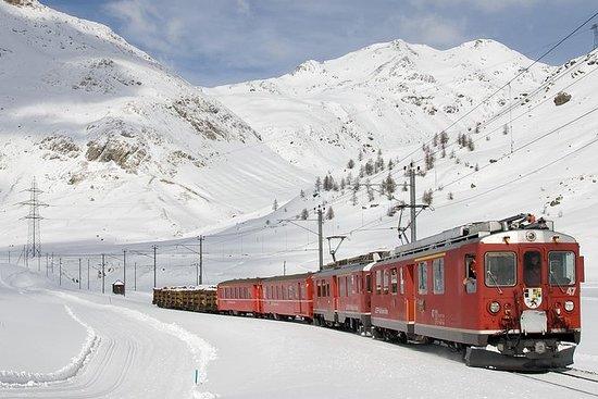 Viaje en tren Bernina Express a los...