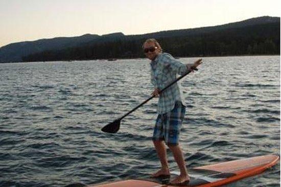 1 timmars stå upp paddleboard lektion ...