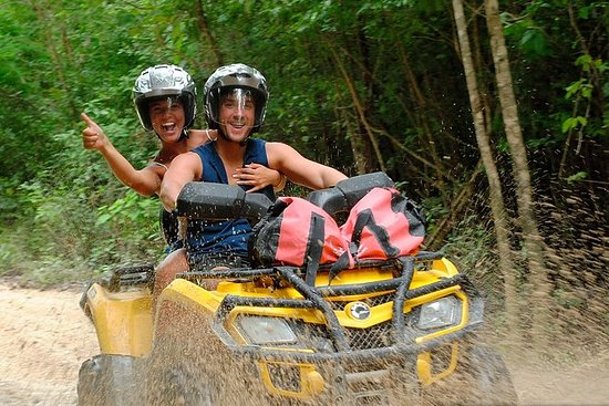 ATV Xtreme and Zipline Adventure from...