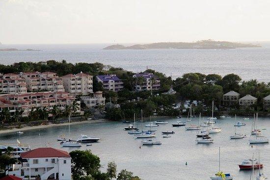 St John Island and Trunk Bay Beach...