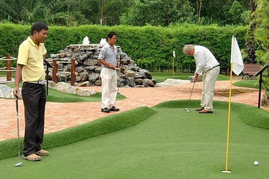 Phuket Adventure Mini Golf Package