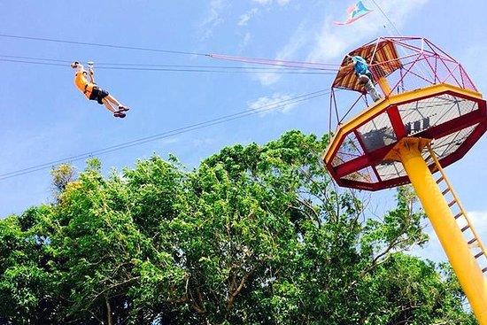 Rainforest Zipline i El Yunque...