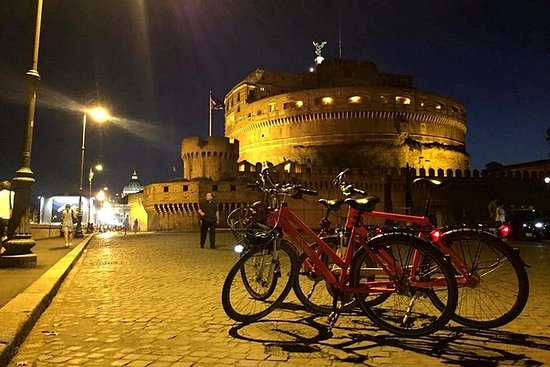 2小时罗马夜骑自行车之旅与比萨饼