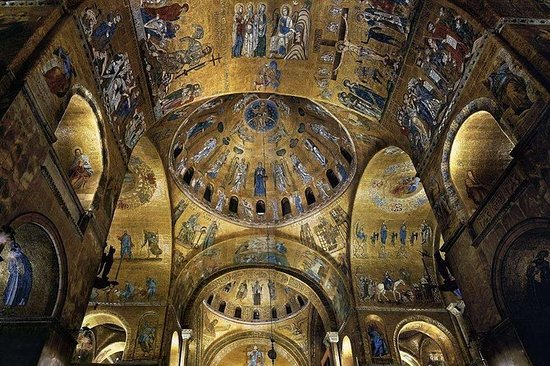 1-timers St. Marks Basilica Hopp over...