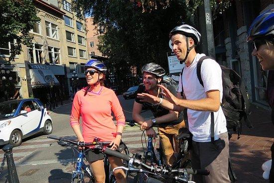 Tour en bicicleta por la tarde en...