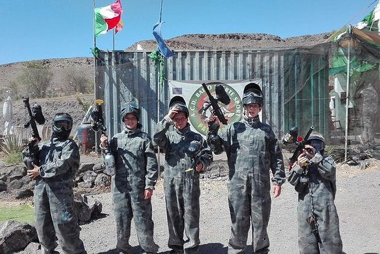 3-Hour Paintball Experience in Fuerteventura