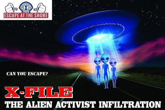 X-FILE Interactive Escape Room in New...
