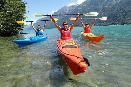 Kayak Tour of the Turquoise Lake...