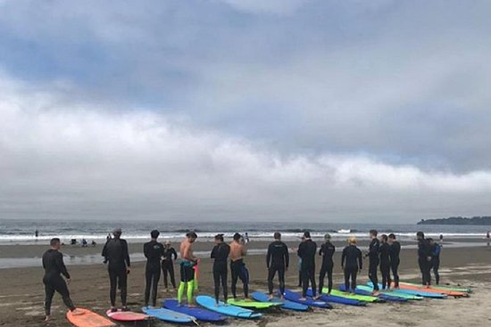 Beginner Surf Lessons At Stinson Beach