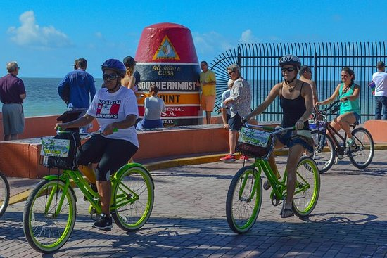 Guided bicycle tour of Old Town Key...