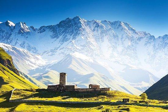 Tre dag i Georgia - Svaneti