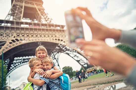 Guidet Eiffeltårnet Tour med Summit...