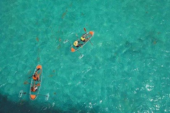 Voir à travers le kayak