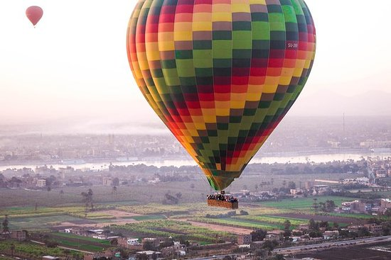 Lyxig Hot Air Balloon Ridding i Luxor
