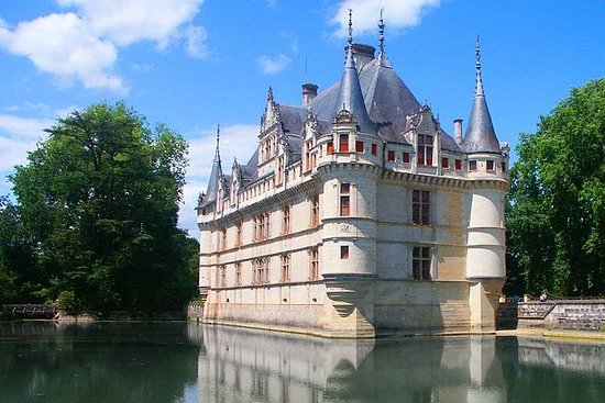 Langeais, Azay le Rideau, lunch and...