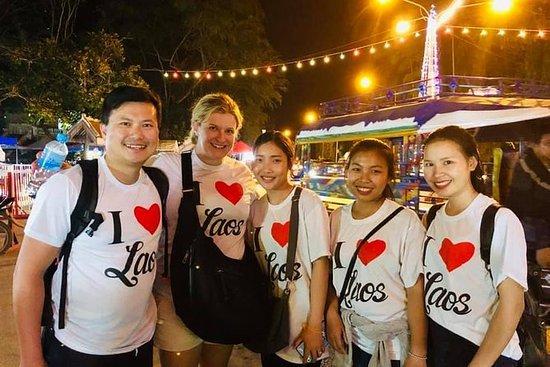Tour por la ciudad de Luang Prabang...