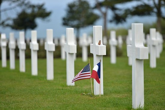 D-Day American Normandy Beaches Tour...
