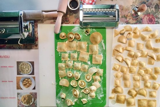 Ravioli Making Lunch or Dining...