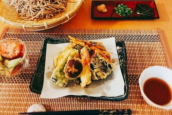 Cocina y fiesta en el jardín japonés...
