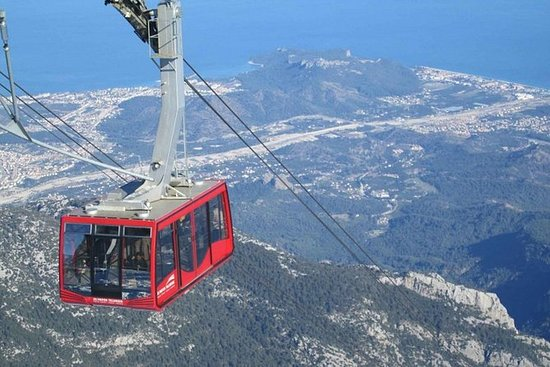 Cable Car Olympos, pick up from...