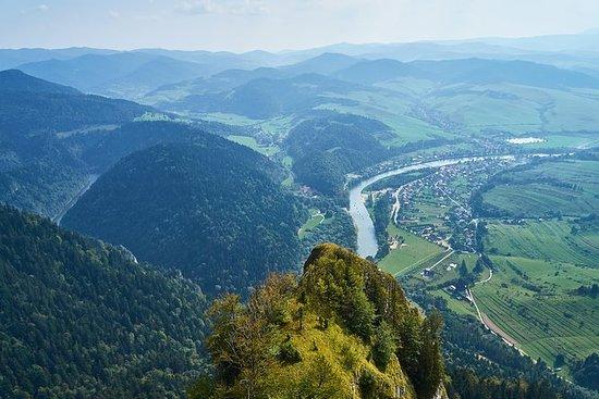 Vandring i Pieniny Mountains ...