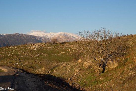 Vandring i Golan høyder - Etter...