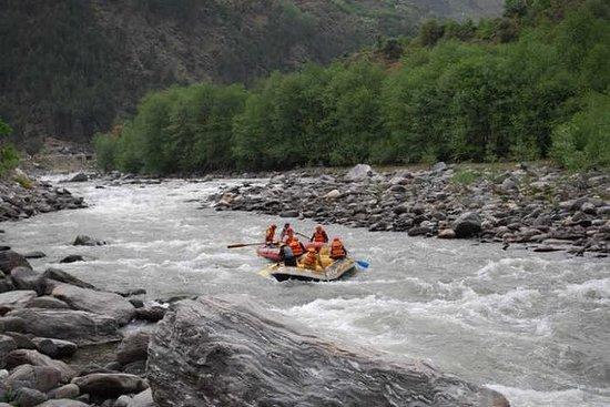 Manali River Rafting 7 Km