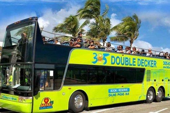 Miami City Tour med buss (Double...