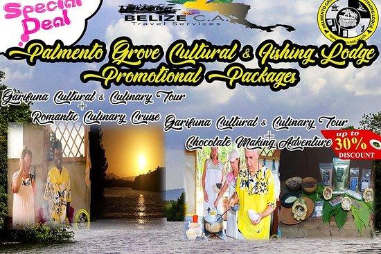Garifuna文化和美食探险,浪漫日落巡航组合