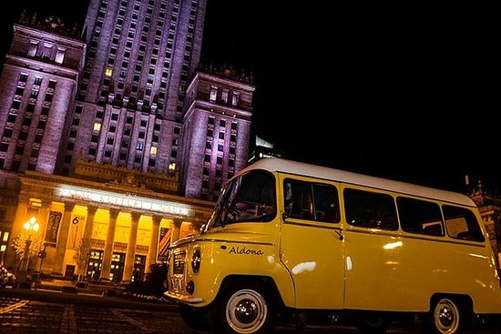 Varsovia privada por la noche