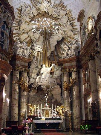 Truly charming altar