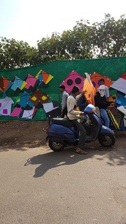 Vadodara, India: 14 ม.ค.62 กับเทศกาลงานวันเล่นว่าวประจำปี..