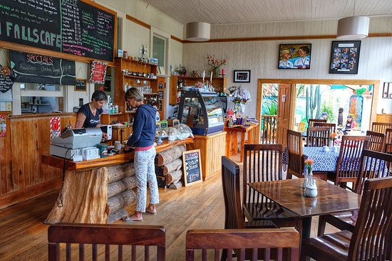 The Catlins, New Zealand: Tolles Café in einem uralten Schulhaus