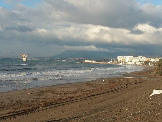 Марбелья, Испания: #Marbella #invierno #playa