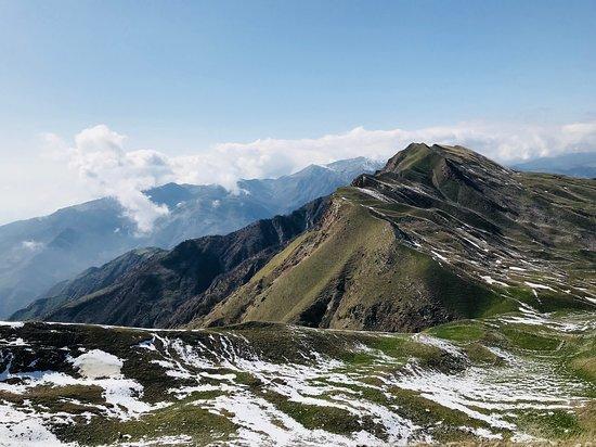 Ismailly, Azerbaijan: 1st photo from our mountain hiking, Niyaldagh tour