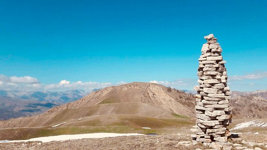 Ismailly, Azerbaijan: 2nd photo from our mountain hiking, Niyaldagh tour