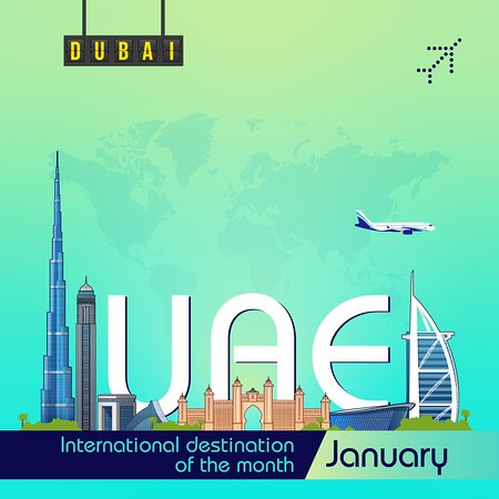 Escape from the January chill, and check one more place off your travel bucket list this year – Visit UAE, Make your first stop at Dubai and experience the biggest shopping festival. #6EDestinationOfTheMonth #MyDubai